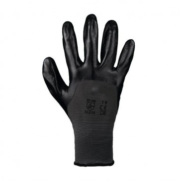 GANTS MANUTENTION  ENDUCTION NITRILE T9 (LA PAIRE)