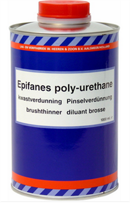 DILUANT PU VERNIS EPIFANES APPLICATION BROSSE 1L