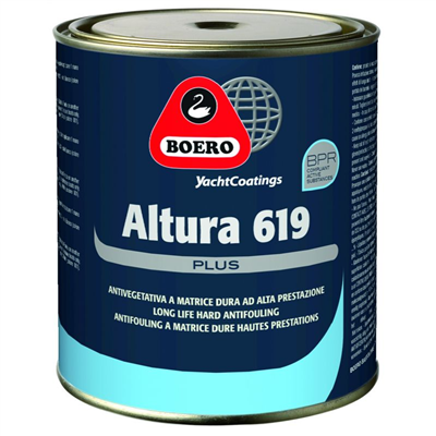 ANTIFOULING ALTURA 619 PLUS BLACK 750ML