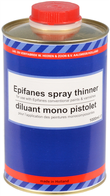 DILUANT MONO VERNIS EPIFANES APPLICATION PISTOLET 1L