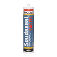 MASTIC MS POLYMERE SOUDASEAL 250 XF NOIR 290ML